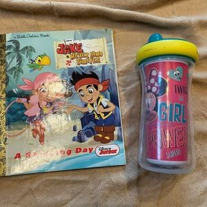 Little Golden Book Disney Jake, Minnie sippy cup